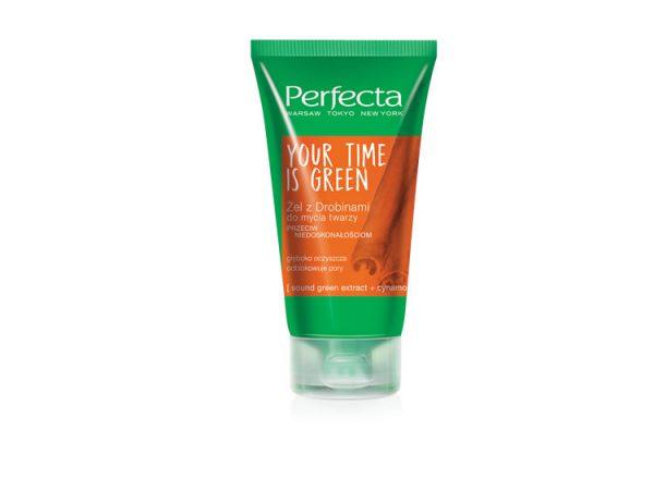 Perfecta Green gel za čišćenje lica sa cimetom 150 ml