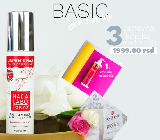 basic skin care box